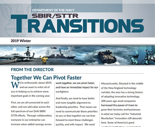 Department Of The Navy Stp Sbir Sttr Transition Program